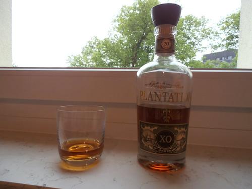 One Shot of Plantation Barbados Rum, 40%