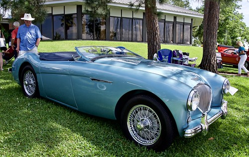 Austin Healey 100 ('55 or '54) | by jerrywhite5