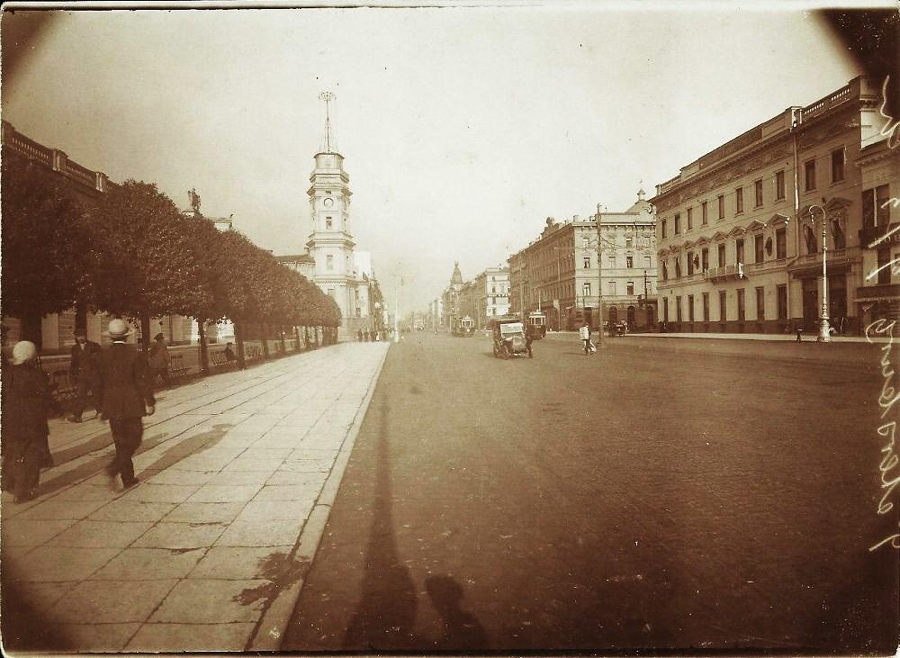 Невский проспект. 1913