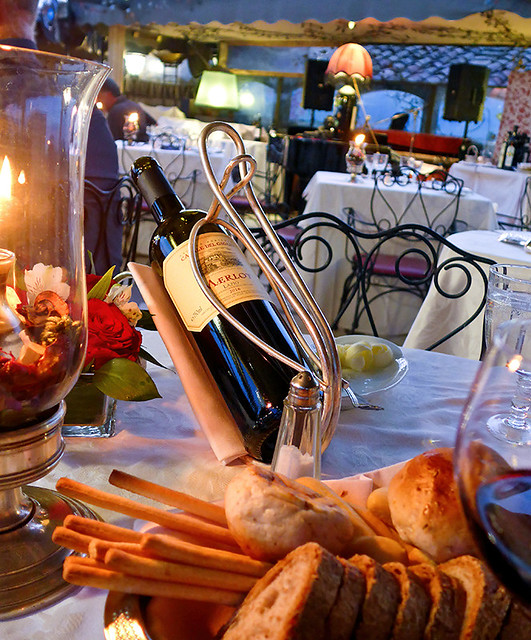 photo - Roof Garden Restaurant, Hotel Forum Rome