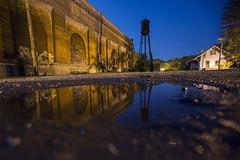 night reflection