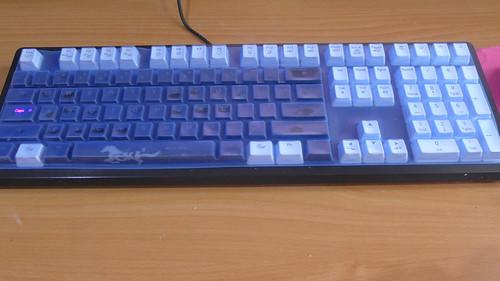 Ducky Shine 4 裝鍵盤保護膜
