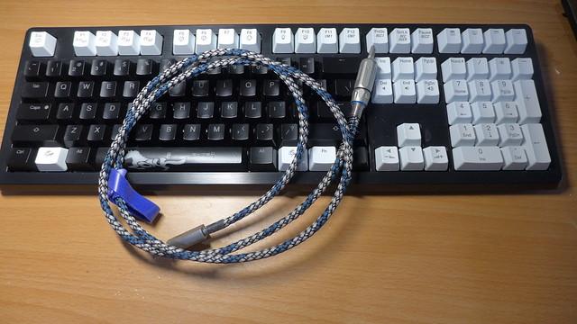 購買機械鍵盤保護膜 && 訂製高檔鍵盤線材