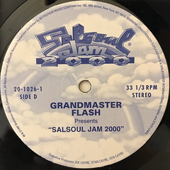 GRANDMASTER FLASH:SALSOUL JAM 2000(LABEL SIDE-D)