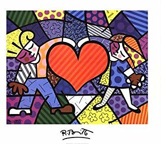 In the Artist's Studio with Romero Britto