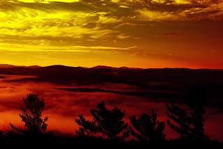 Tue, 08/02/2016 - 18:45 - A sunset of the Adirondacks taken by Mr. Ensman