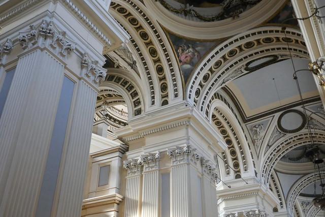 Arches et voûtes, Nuestra Señora del Pilar, Casco Viejo, Saragosse, Aragon, Espagne.