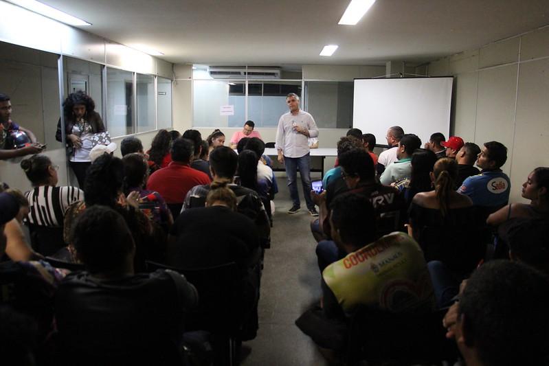 Reunião da organização do Festival Folclórico dos Bairros - 2019