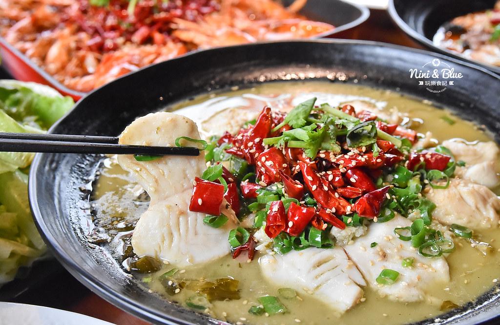漁知香木桶魚 台中逢甲美食 麻辣烤魚 小龍蝦 水煮牛 四川烤魚25