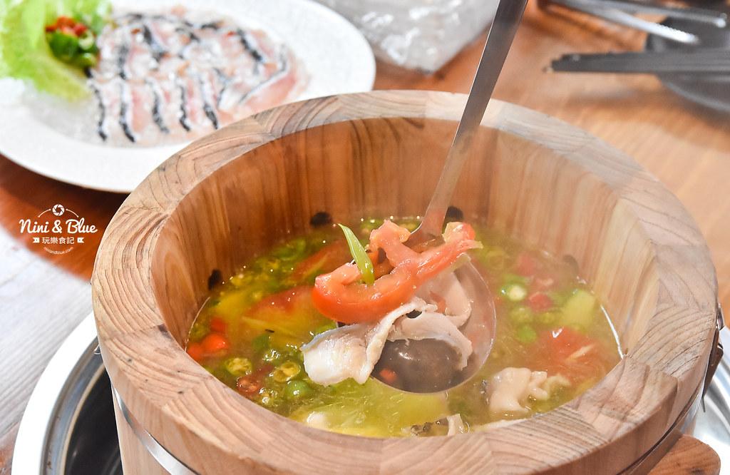 漁知香木桶魚 台中逢甲美食 麻辣烤魚 小龍蝦 水煮牛 四川烤魚21