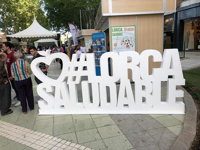 Feria lorca Saludable 2019