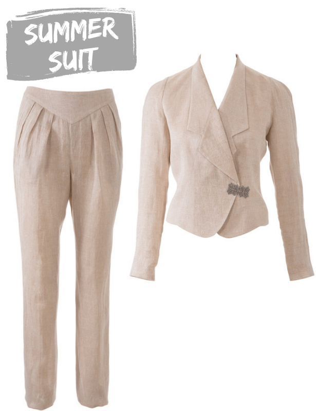 Summer 19 Trends Summer Suit