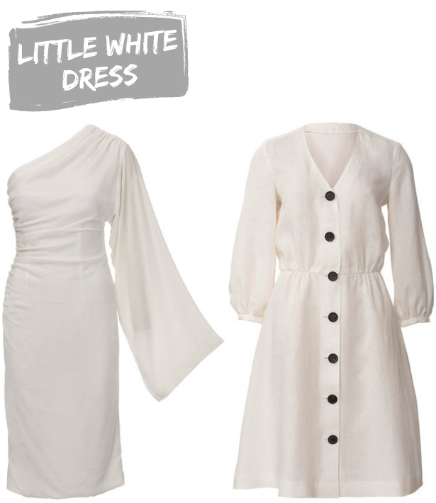 Summer 19 Trends Little White Dress