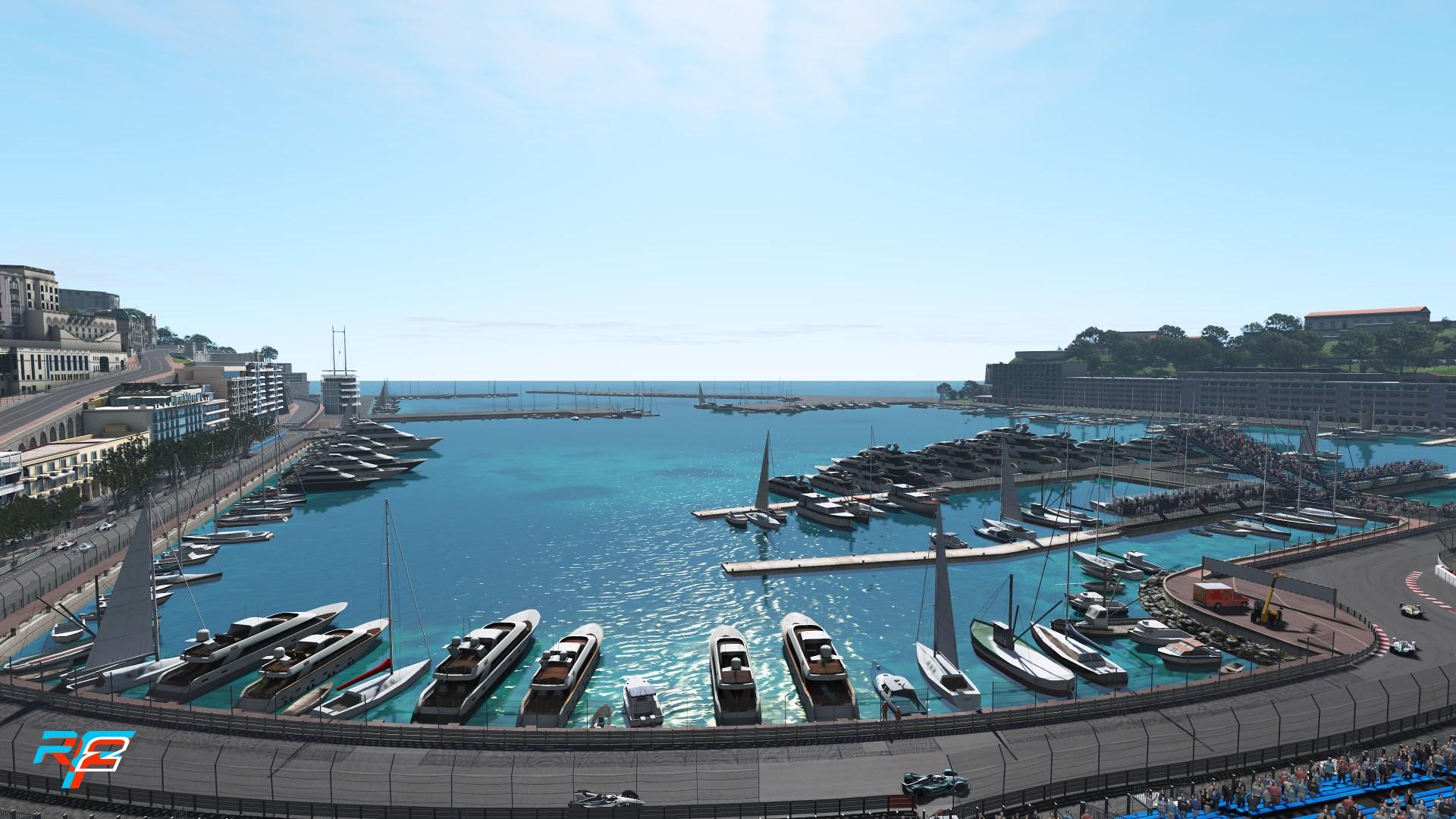 rF2 Monaco 1