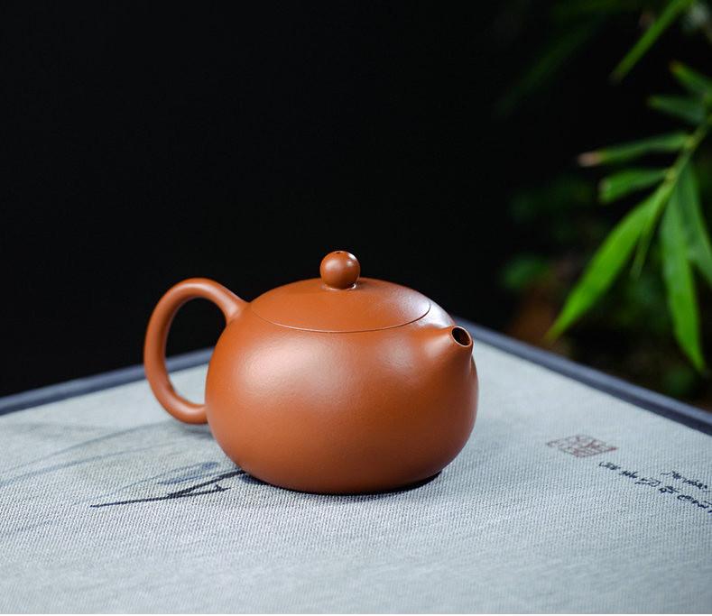 """Yixing Teapot """"Daoba Xishi"""" around 100cc ZhaoZhuang ZhuNi Mud"""