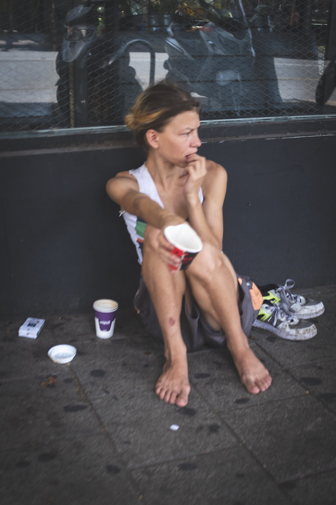 Land of homeless and hungry Russians. Tel Aviv, April 2018.