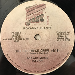ROXANNE SHANTE:THE DEF FRESH CREW(LABEL SIDE-A)