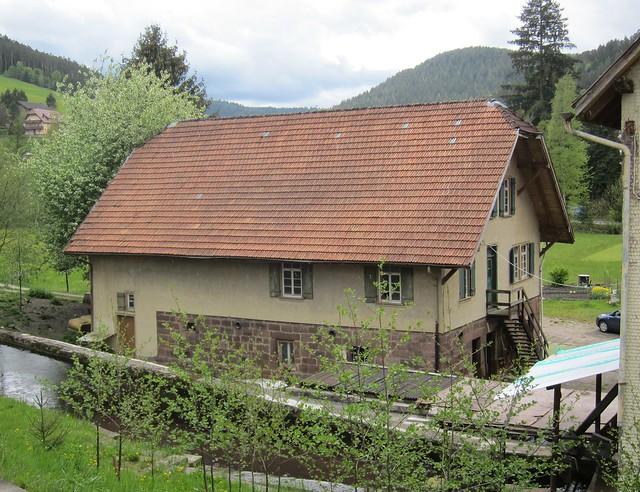an old farmhouse in Baiersbronn