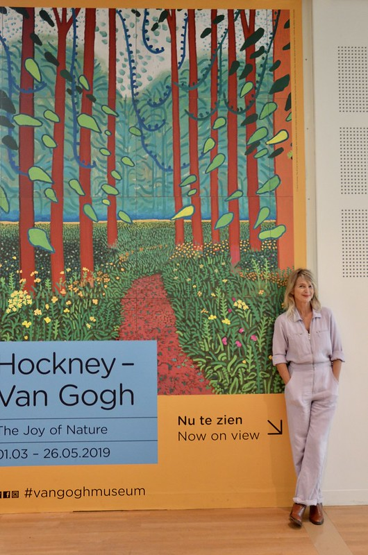 amsterdam - the joy of nature - david Hockney