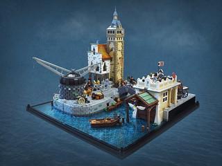 Historic Harbour Scene | by Vaionaut