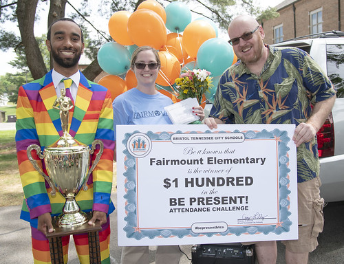 Be Present Winner Fairmount Elementary