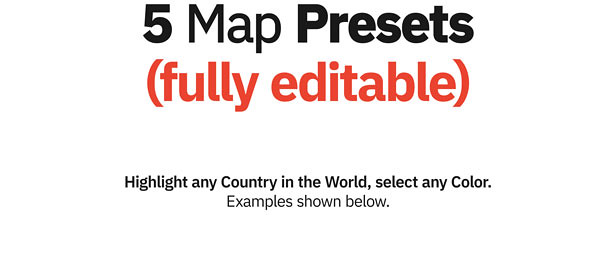 World Map ToolKit for Premiere Pro - 4