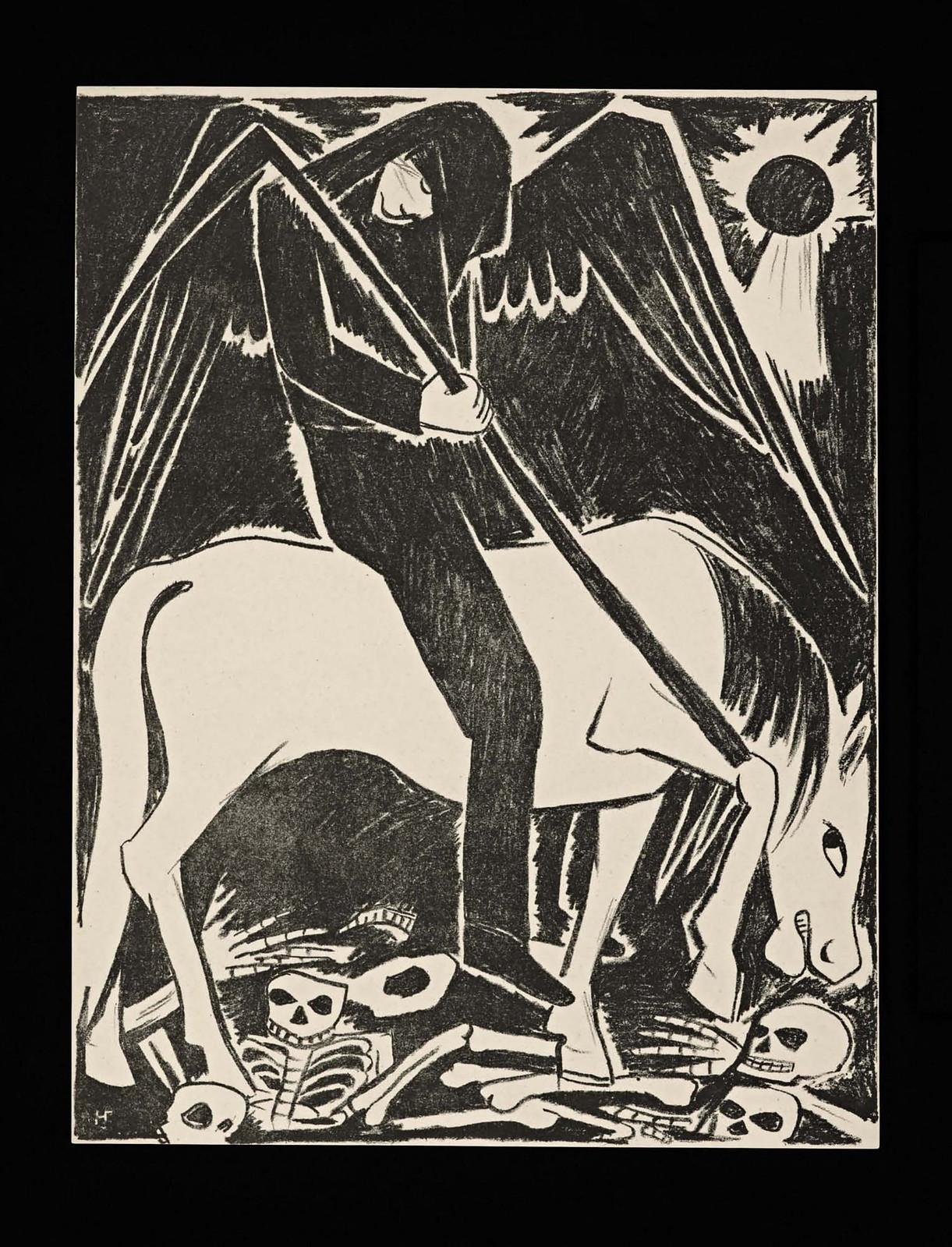 1914. Мистические образы войны 14 литографий-17