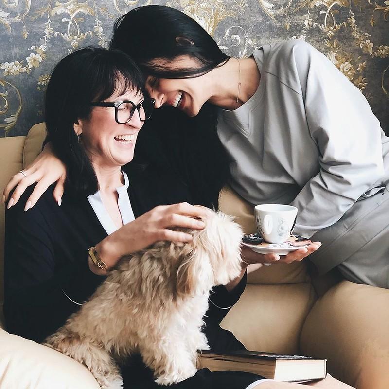 Маша Ефросинина с мамой Людмилой