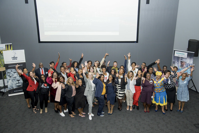 Lionesses of Africa Accelerator Pitch Day, 6 May 29, Siemens, Midrand, South Africa