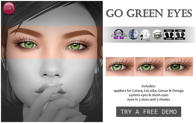 Go Green Eyes (Palette Event)