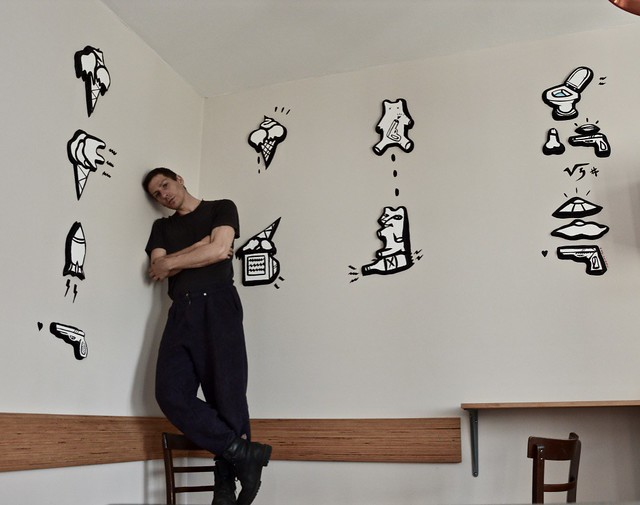 Mural Work in Berlin's hotel