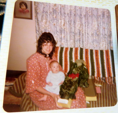 Carol & Caleb Jon first Mother's Day Year 1981