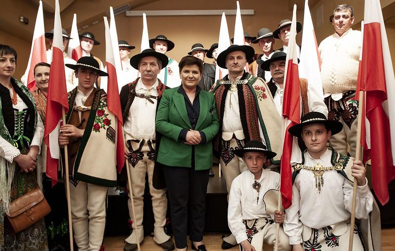 Spotkanie z mieszkańcami Zakopanego.