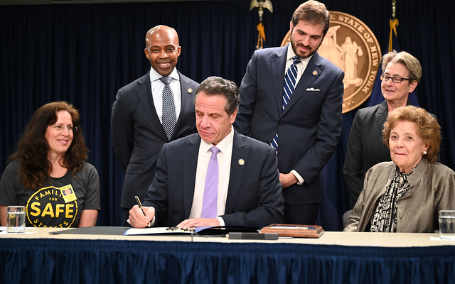On Mother's Day, Governor Cuomo Signs Legislation Reinstating and Expanding New York City Speed Zone Camera Program to Save Lives