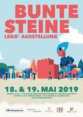 Bunte Steine LEGO Ausstellung
