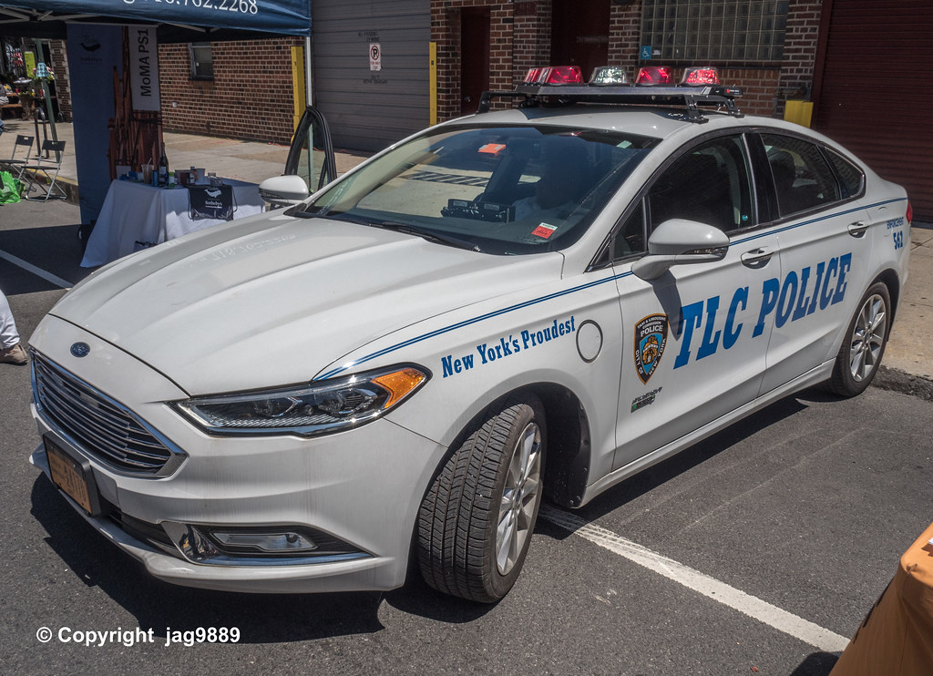 TLC Police Car, Long Island City, Queens, New York City | Flickr