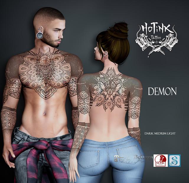 .: HoTiNK :. Demon Tattoo