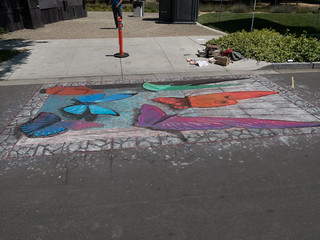 The Big Draw - Chalk Art on Pleasanton Street | by jay galvin