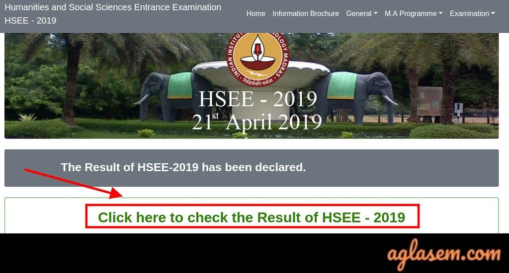 HSEE 2019 Result