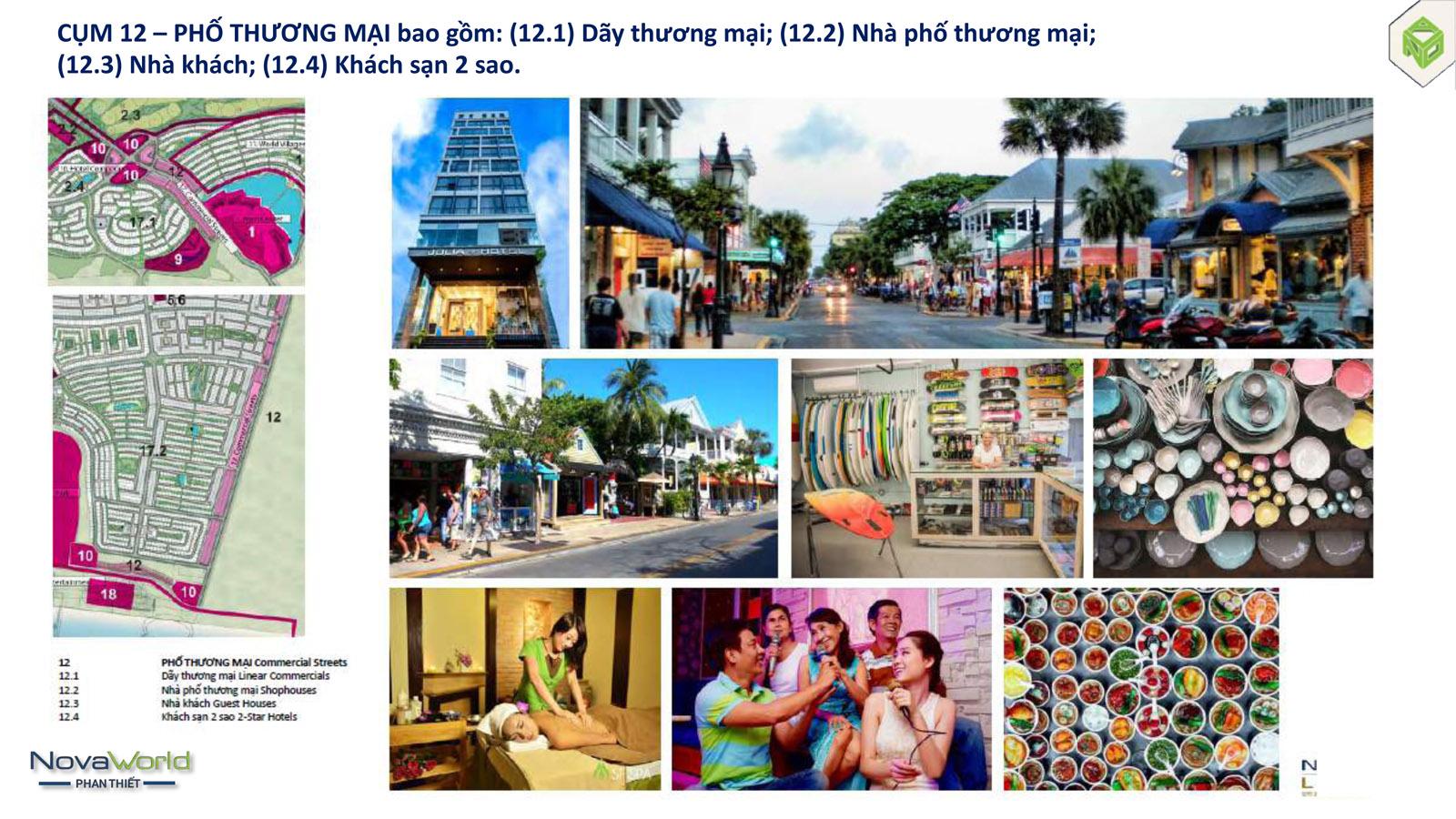 Cụm tiện ích Nhà phố thương mại dự án NovaWorld Phan Thiết