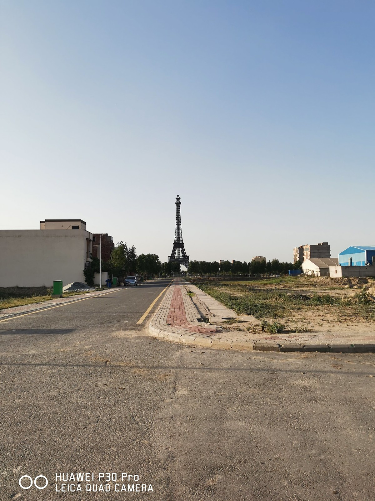 Eiffel Tower Bahria town mobile photography