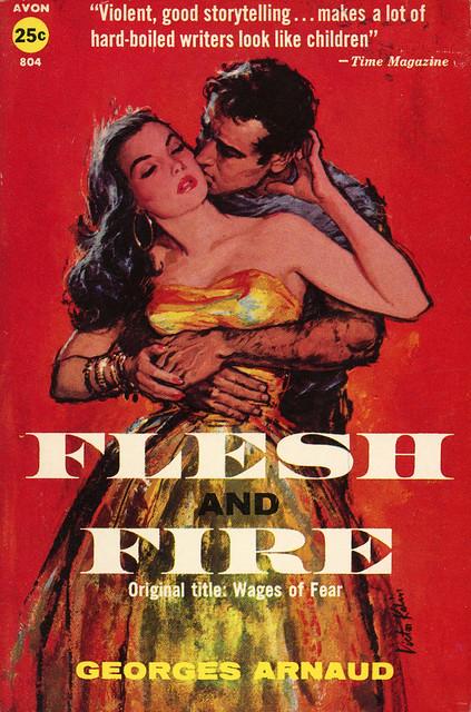 Avon Books 804 - Georges Arnaud - Flesh and Fire