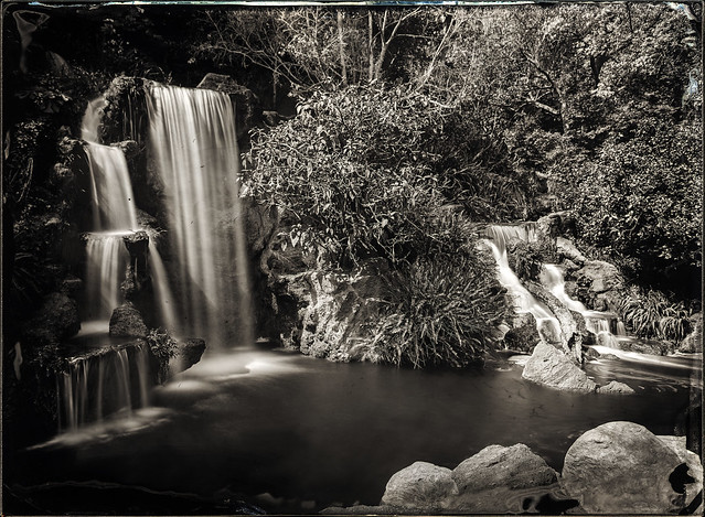 Waterfall - Wet Collodion Negative