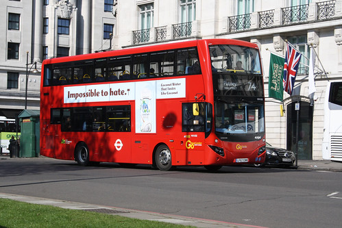Go-Ahead London MHV88 LF67EWM