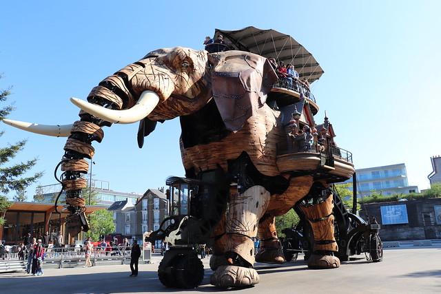 Horario Gran Elefante de Nantes