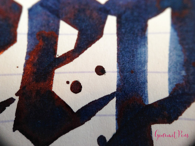 Cult Pens Diamine Deep Dark Blue Ink Review 8