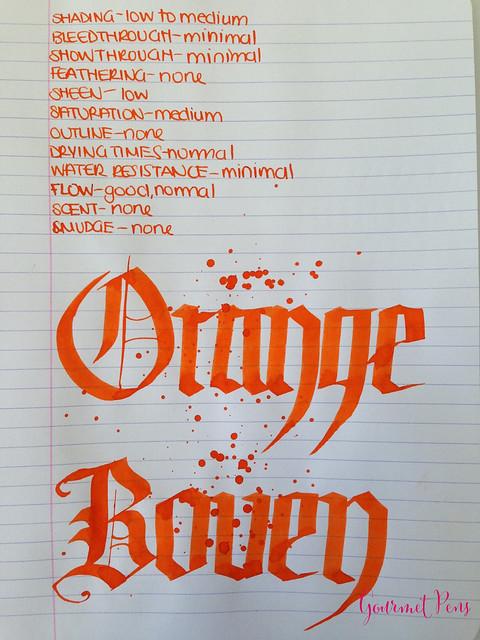P.W Akkerman Oranje Boven Ink 6