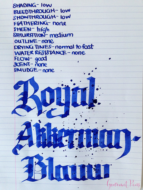 P.W Akkerman Royal Akkermanblauw Ink 6