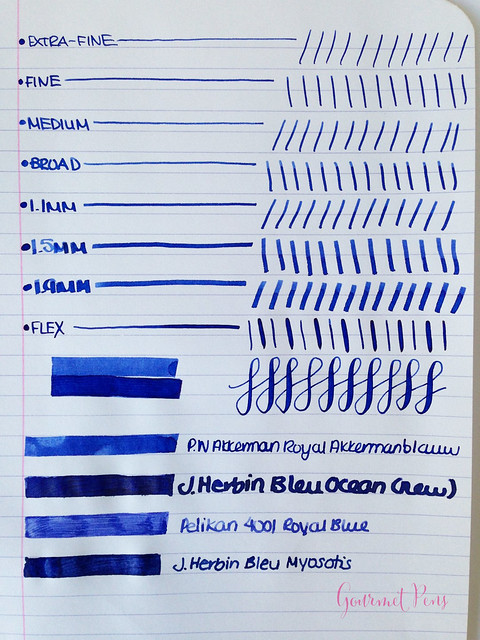 P.W Akkerman Royal Akkermanblauw Ink 4