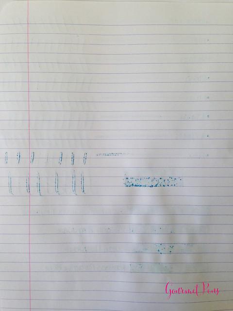 P.W Akkerman Trêves Turquoise Ink 4